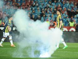 Die Partie zwischen Fenerbahçe und Trabzon musste abgebrochen werden