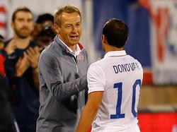 Jürgen Klinsmann reagiert gelassen auf die Kritik von Landon Donovan