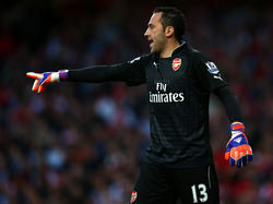 David Ospina ist unzufrieden mit seiner Rolle bei Arsenal