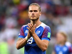Für den Isländer Rúrik Gíslason steht der Fußball im Fokus