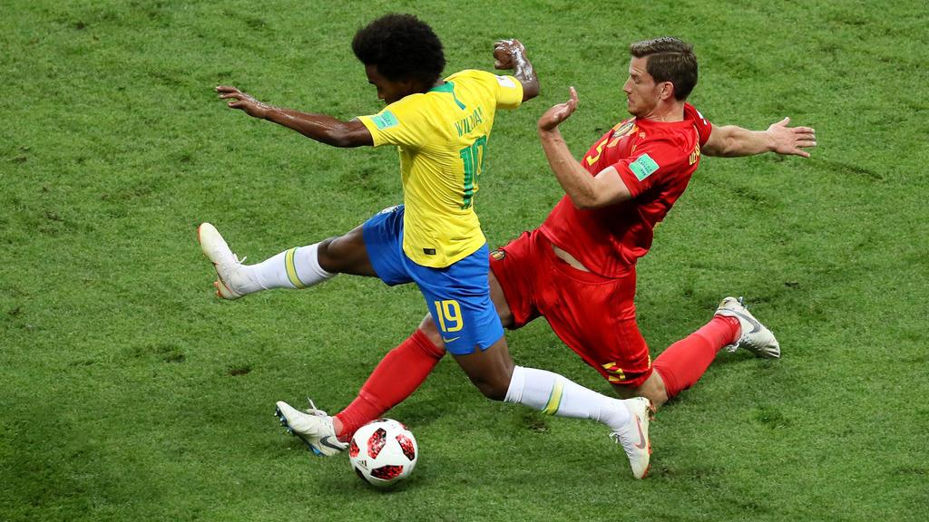 Brasilien und Belgien liefern sich ein intensives Duell auf höchstem Niveau