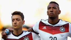 Mesut Özil und Jérôme Boateng werden nicht mehr gemeinsam für die DFB-Elf auflaufen