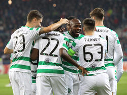 Celtic-Torjubel in Salzburg