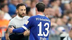 Domenico Tedesco hat kein Problem mit Sebastian Rudy