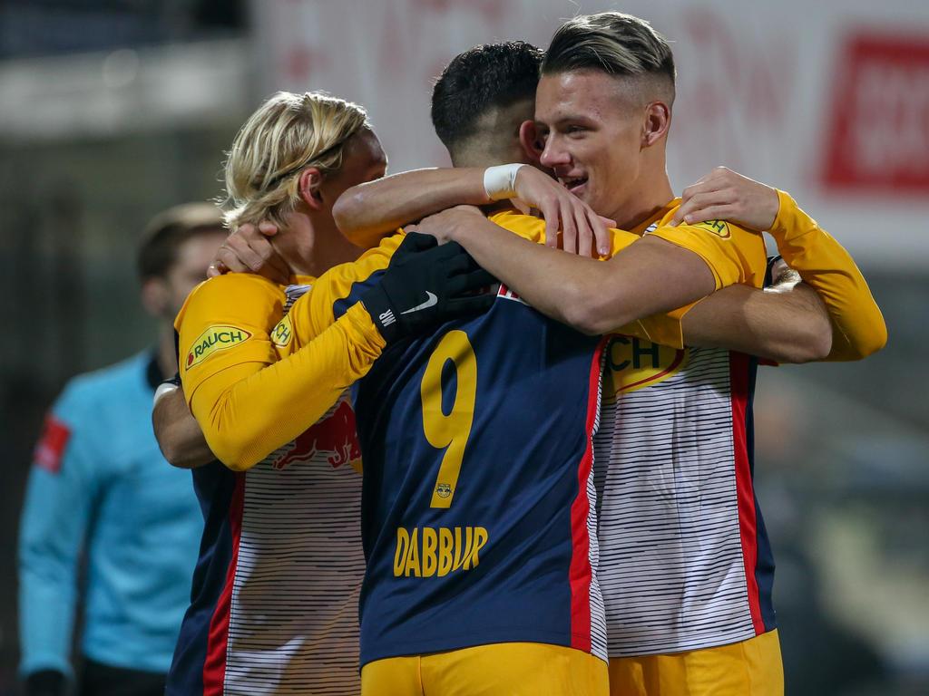 Salzburg reichte klare Dominanz nicht zum Sieg