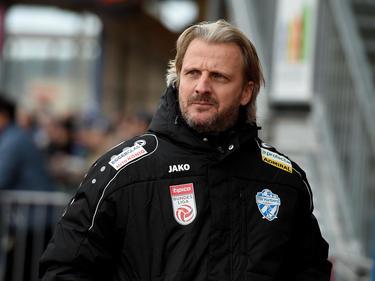 Hartberg-Trainer Markus Schopp ist vom Vorgehen des SK Sturm wenig angetan