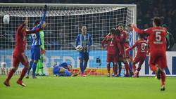 Der FC Bayern hat Hertha BSC im Pokal niedergerungen