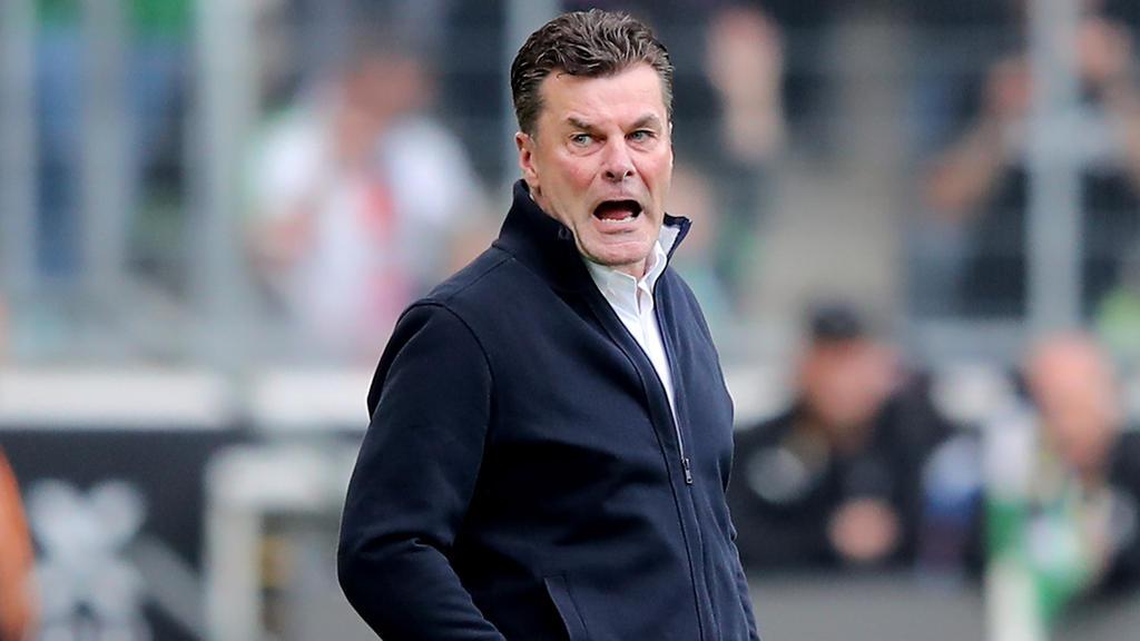 Dieter Hecking und die Gladbacher blieben schon wieder ohne Sieg