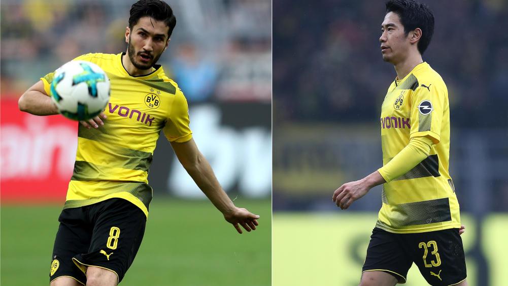 Nuri Sahin, Shinji Kagawa und Mario Götze kehrten in den vergangenen Jahren zum BVB zurück