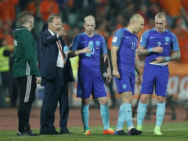 Desastre de Holanda ante Bulgaria. (Foto: Getty)