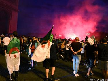 Nicht aller Algerien-Fans feierten friedlich