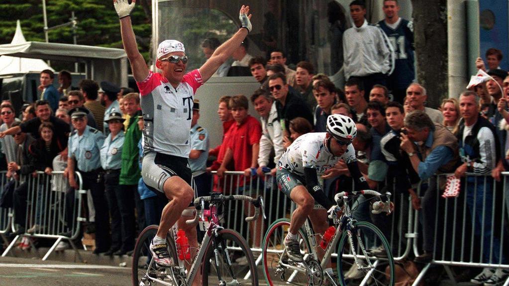 Jens Heppner sorgte 1992 für einen deutschen Erfolg bei der Tour