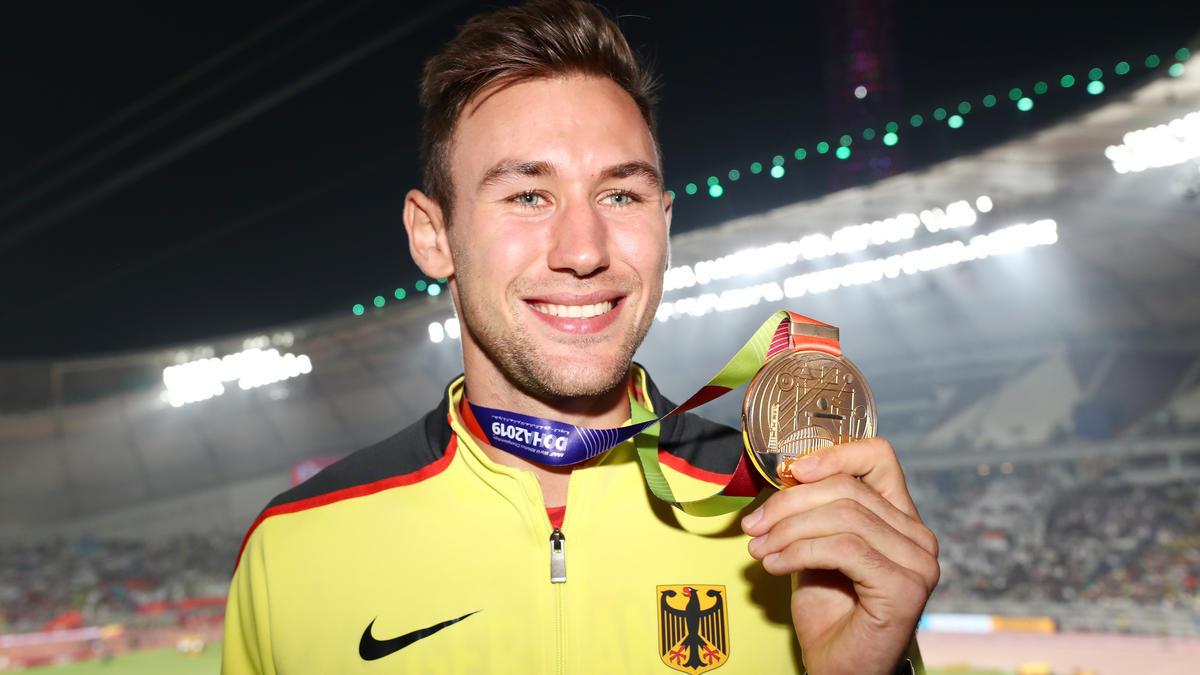 Niklas Kaul holte sensationell Zehnkampf-Gold