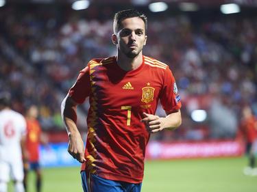 Pablo Sarabia comienza a ser fijo en la Roja.