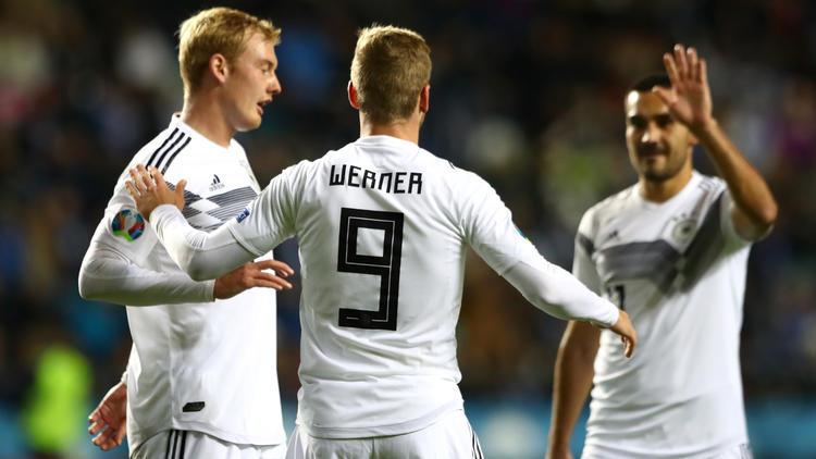 Werner (li.) und Gündogan (re.) trafen für Deutschland