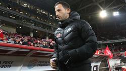 Domenico Tedesco hat mit Spartak Moskau einen Sieg eingefahren