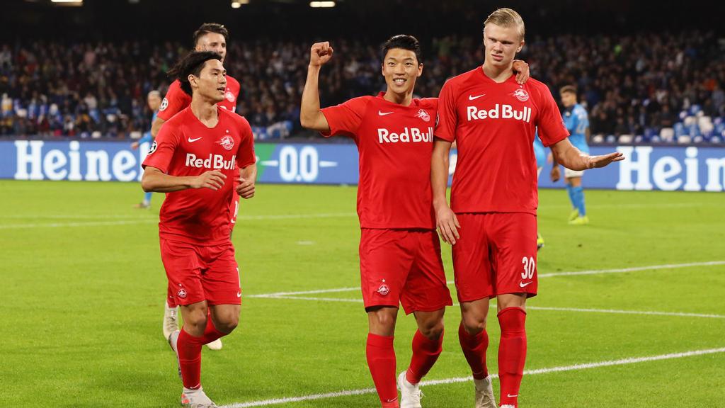 Torjäger Erling Haaland soll RB Salzburg gegen Klopps Liverpooler zum Erfolg schießen