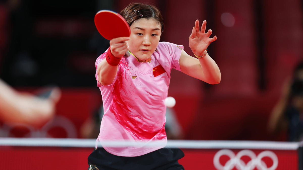 Chen Meng ist Olympiasiegerin