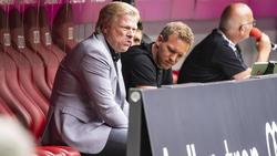 Oliver Kahn ist Karl-Heinz Rummenigges Nachfolger als Boss des FC Bayern