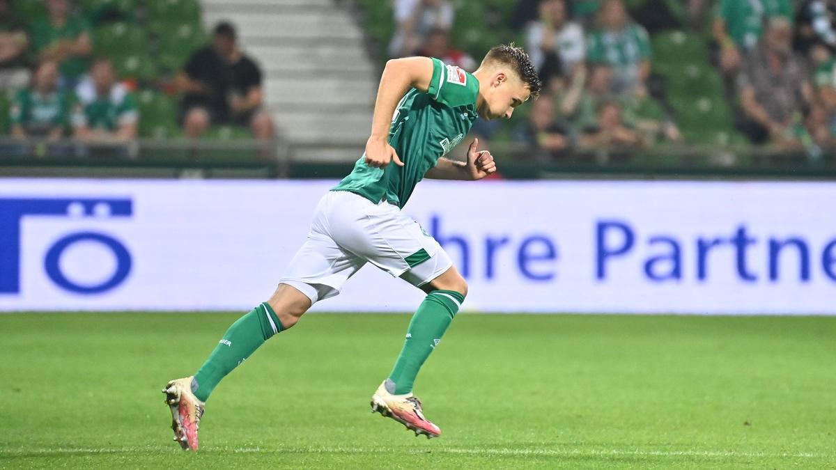 Johannes Eggestein wird Werder Bremen verlassen