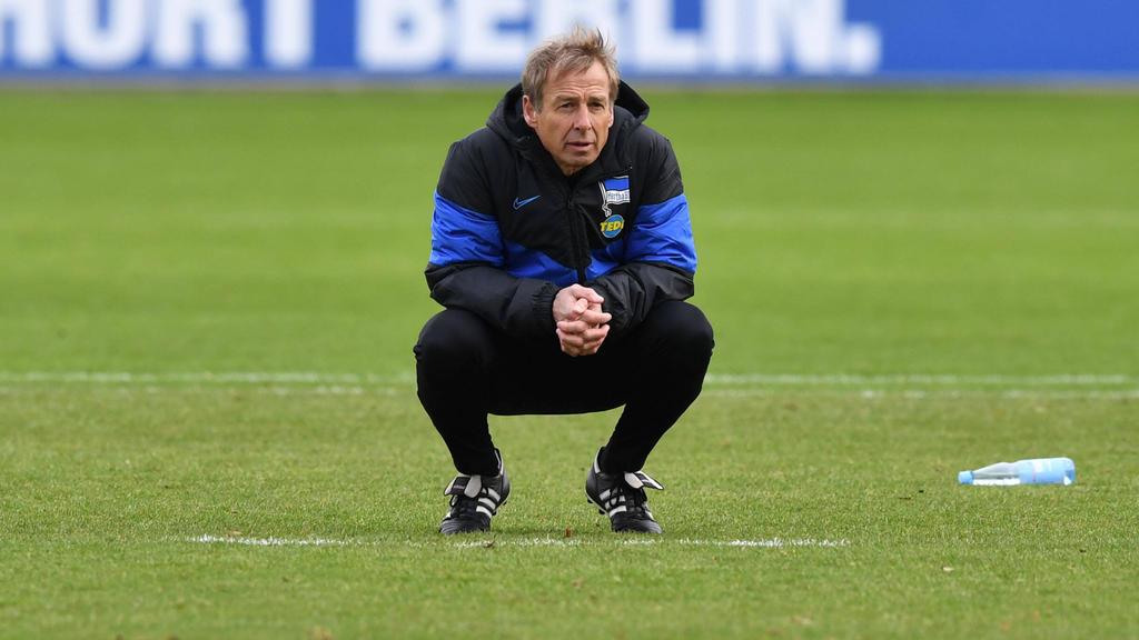 Bleibt Jürgen Klinsmann über den Sommer hinaus Hertha-Coach