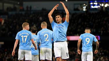 Rodri traf zum 1:0 für Manchester City