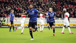 Cebio Soukou erzielte Bielefelds Ausgleich gegen den VfB Stuttgart