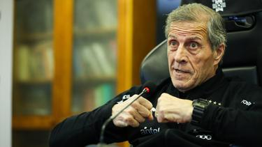 Oscar Tabarez has also been laid off due to the coronavirus pandemic that has frozen sport worldwide.