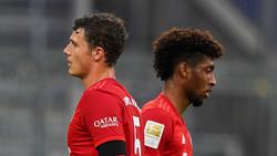 Wann kann der FC Bayern wieder mit Benjamin Pavard (l.) und Kingsley Coman planen?