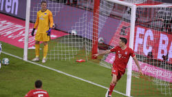 Sieggarant des FC Bayern: Robert Lewandowski