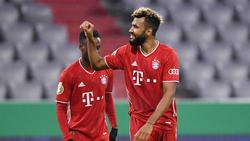 Eric Maxim Choupo-Moting erzielte einen Doppelpack für den FC Bayern