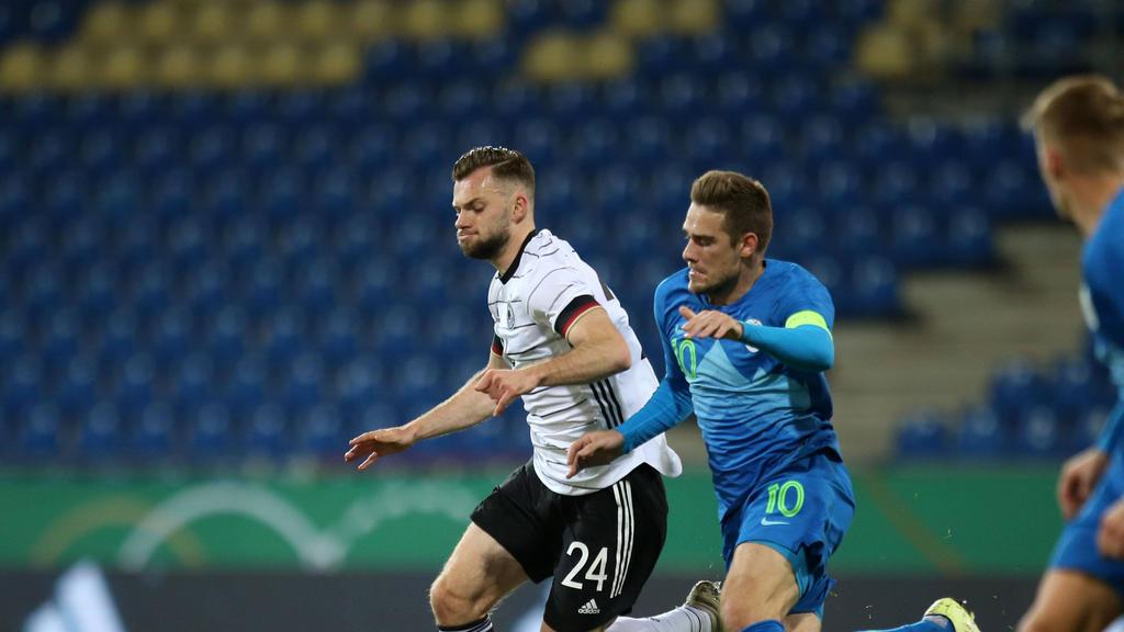 HSV-Profi Manuel Wintzheimer traf bei seinem Debüt für die U21-Nationalmannschaft