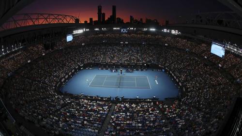 Das Finale in Melbourne zu Jahresbeginn: In Bild wie aus einer anderen Zeit