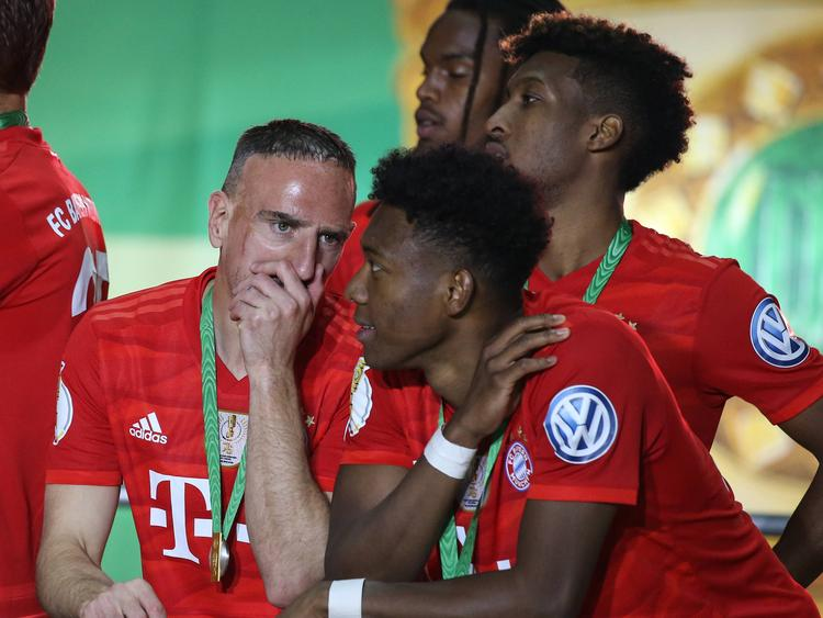 Ribery mit Alaba