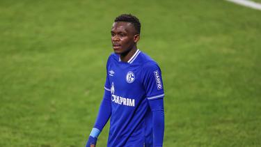 Wurde auf Schalke bislang nicht glücklich: Rabbi Matondo