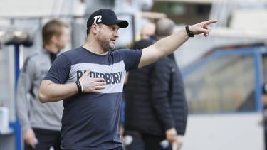 Paderborns Trainer Steffen Baumgart wird als neuer Trainer beim FC Schalke 04 gehandelt