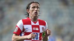 Kapitän Luka Modric ist nun kroatischer Rekordspieler