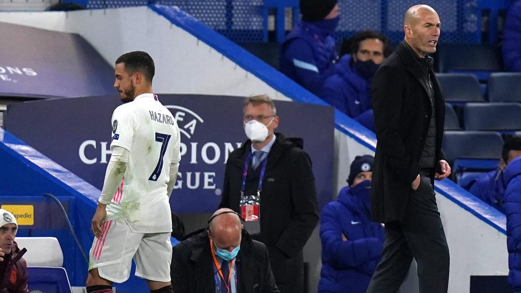 Zidane berichtete von Hazards Entschuldigung