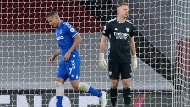 Arsenal-Keeper Bernd Leno patzte gegen Everton schwer