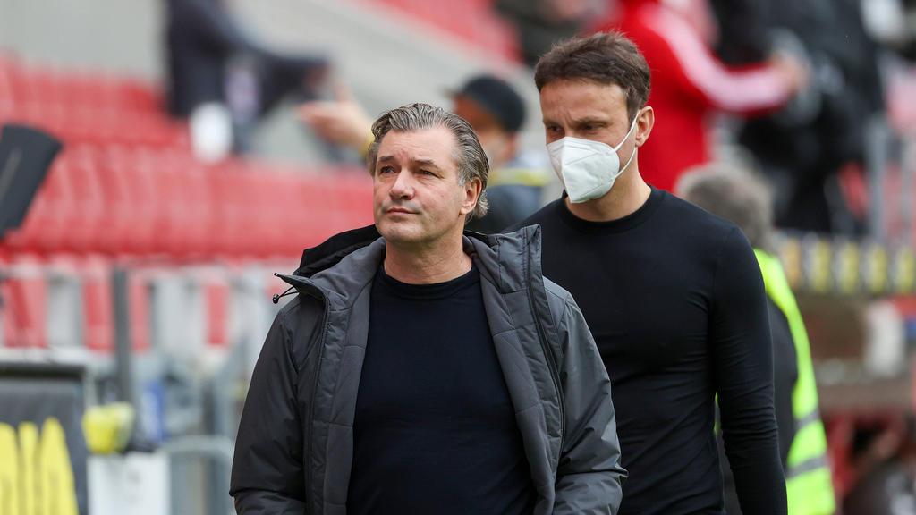 Michael Zorc (l.) ist als Sportdirektor beim BVB für die Transfers zuständig