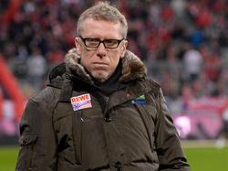 Kölns Trainer Peter Stöger lässt sich nicht aus der Ruhe bringen
