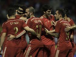 Cesc Fábregas lässt sich beglückwünschen