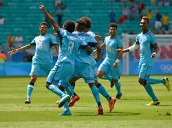 Fidschis Fußballer sorgen für einen exotischen Flair bei Olympia