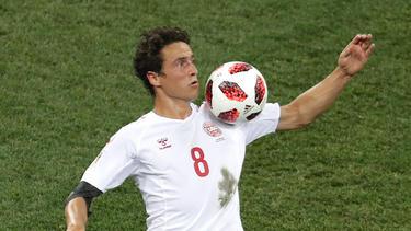BVB-Mittelfeldspieler Thomas Delaney war wieder mit von der Partie