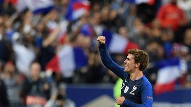 Antoine Griezmann drehte in der zweiten Halbzeit die Partie gegen Deutschland