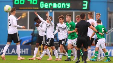 Tim Lemperle, Marvin Weiß, Kerim Calhanoglu und Marton Dárdai trafen gegen Irland