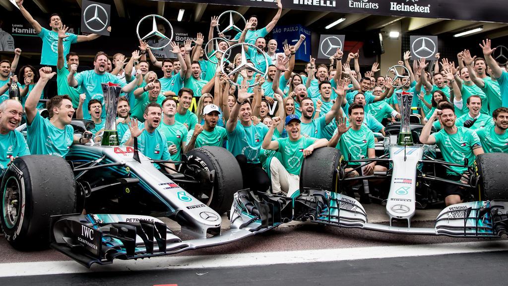 Am Ende der Saison 2018 ist Mercedes einmal mehr der große Gewinner