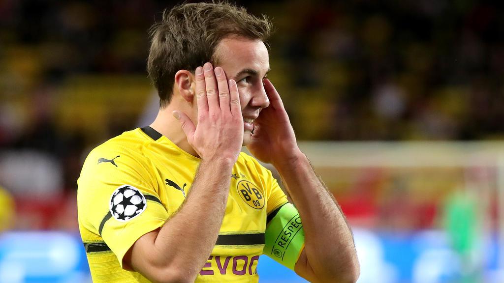 Mario Götze würde gerne selbst mal wieder für den BVB treffen