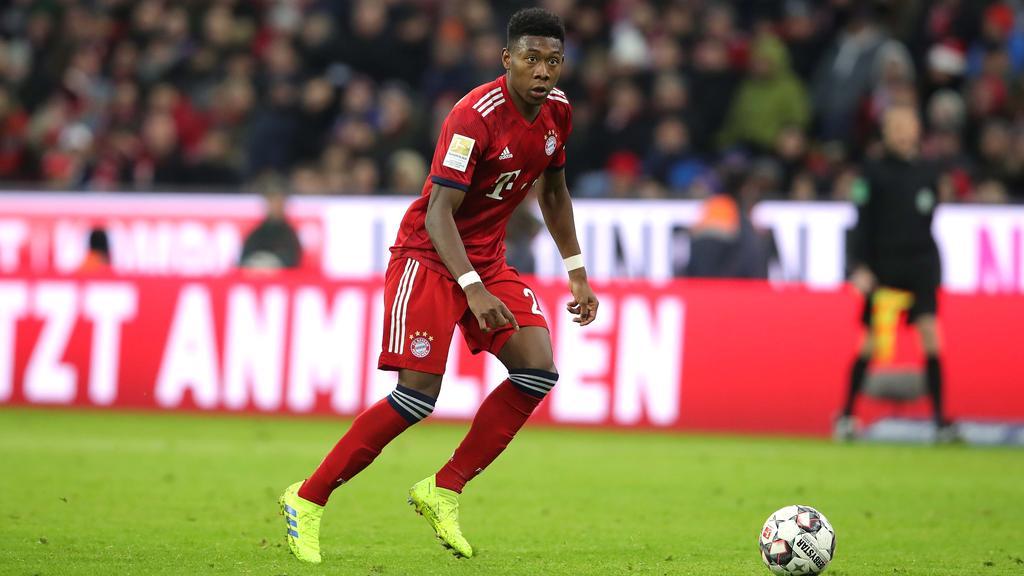 David Alaba gehört beim FC Bayern zum Stammpersonal