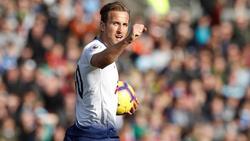 Muss mit Tottenham Hotspur beim BVB ran: Harry Kane